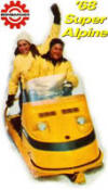 1968 Ski-doo Super Alpine, minus the gas cap